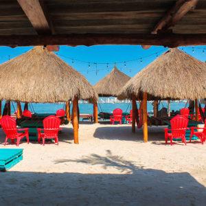 Best beach day club in Cartagena