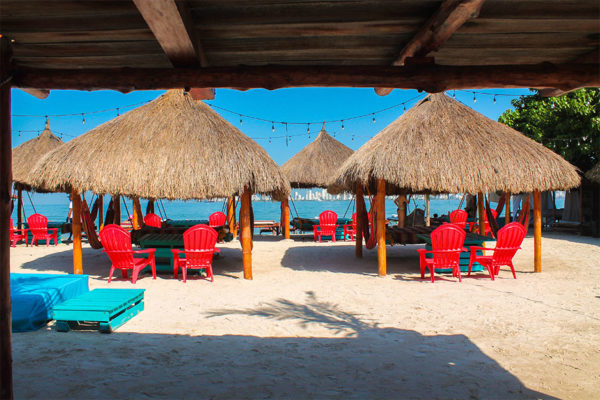 Best beach day club in Cartagena