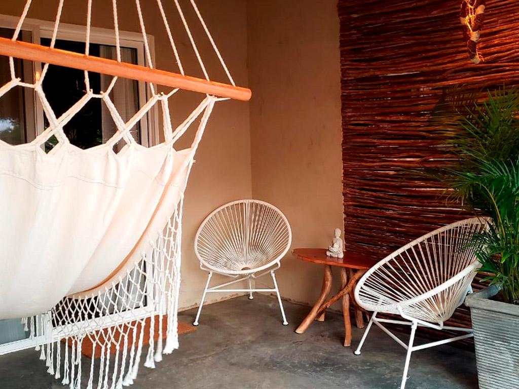 Zen room at the beach hotel in tierrabomba island