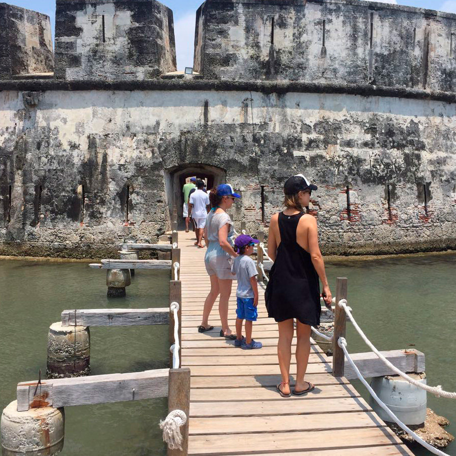 Tour to the forts of Bocachica